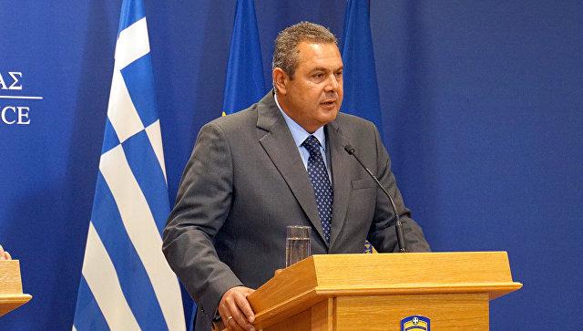 Министр Национальной обороны Греции Панос Камменос. Архивное фото