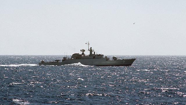 Фрегат ВМС Ирана. Архивное фото
