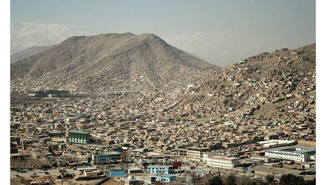Кабул. Вид. Архивное фото.