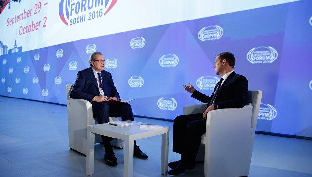 Премьер Д. Медведев предсказывает снижение ставок поипотеке