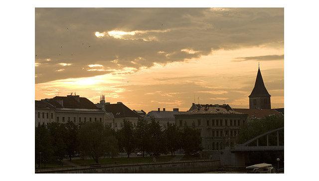 Город Тарту, Эстония. Архивное фото