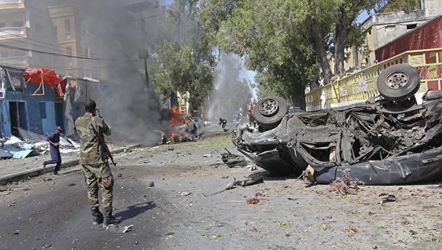 Двое убиты, пятеро ранены— Теракт вМогадишо