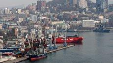 Владивостокский морской торговый порт. Архивное фото