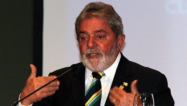 Экс-президент Бразилии Луис Инасио Лула да Силва. Архивное фото