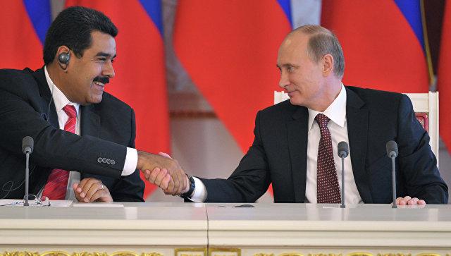 Президент Венесуэлы планиурет увидеться сПутиным для обсуждения цен нанефть