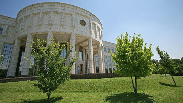 Резиденция президента Узбекистана Ислама Каримова Оксарой в Ташкенте. Архивное фото
