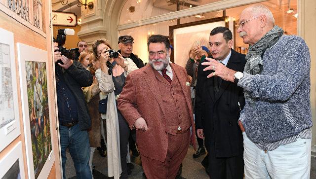 Никита Михалков открыл выставку «Дяде Стёпе— 80»