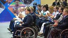 Российские паралимпийцы. Архивное фото