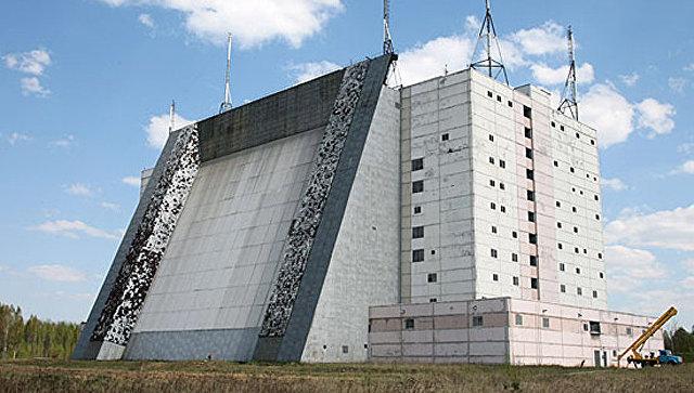 Радиолокационная станция. Архивное фото