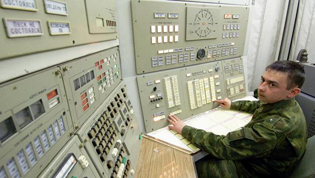 Дежурный боевой пост РВСН. Архивное фото