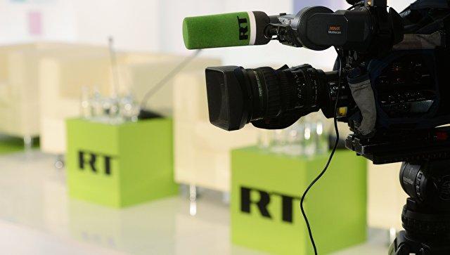 Великобритания заблокировала счета телекомпании Russia Today