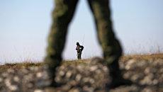 Солдаты российской армии. Архивное фото