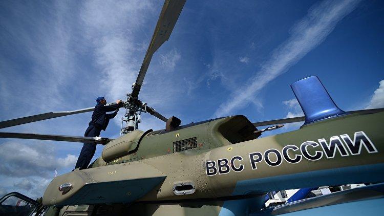 В РФ изготовили 1-ый вертолет Ка-226Т корабельного базирования