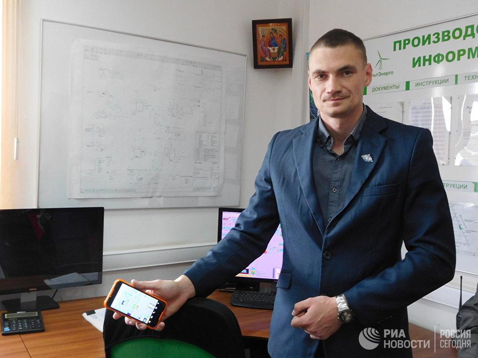 Директор биогазовой станции Лучки в Прохоровском районе Илья Мейлах