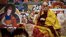 Далай-лама XIV провел лекцию в Риге