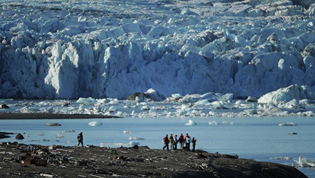 Экспедиция на архипелаг Новая Земля. Архивное фото