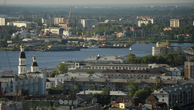 Города России. Архангельск. Архивное фото