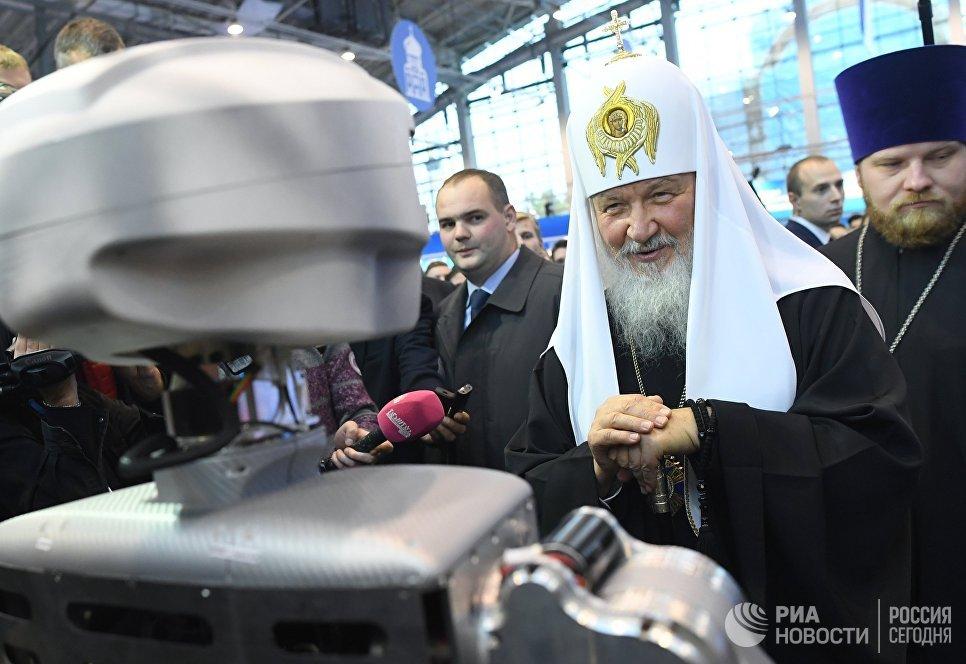Патриарх Кирилл  на Православном студенческом форуме