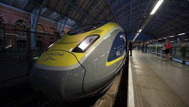 Движение поездов поЕвротуннелю прервано из-за трудностей сэлектричеством