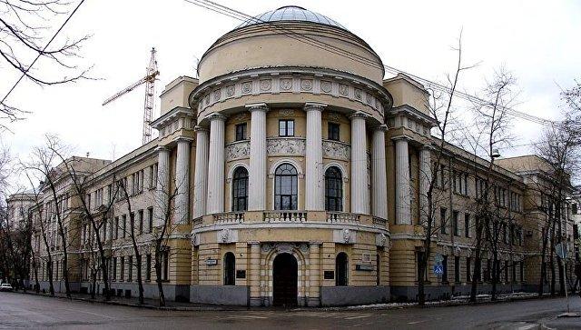 Главный корпус МПГУ . Архивное фото