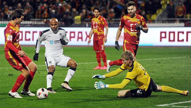 Тульский «Арсенал» обыграл «Енисей» иостался вПремьер-Лиге