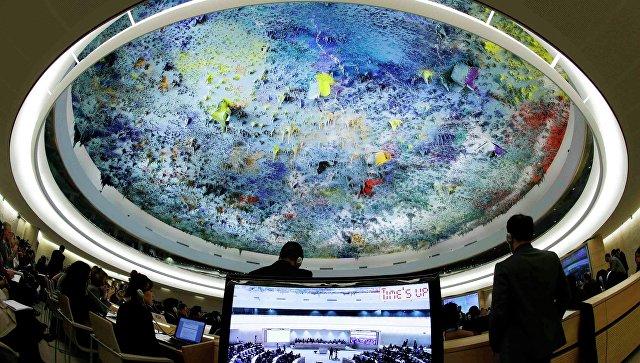 Заседание СПЧ ООН по ситуации в Сирии в Женеве. Архивное фото