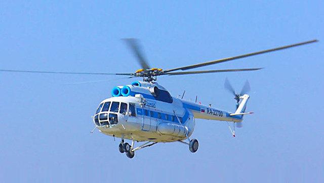 Вертолет авиакомпании Сокол