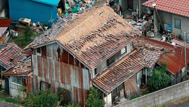 Последствия землетрясения в префектуре Тоттори, Япония. 21 октября 2016