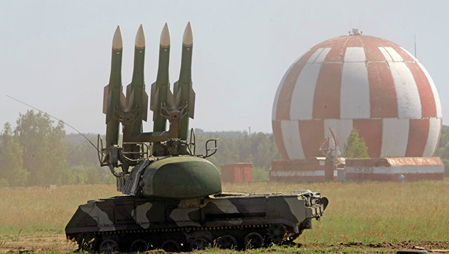 ВОренбуржье наТоцком полигоне зенитчики отразили удар условных противников