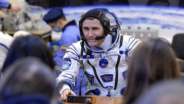 Участник 46/47 длительной экспедиции на Международную космическую станцию, космонавт Роскосмоса Юрий Маленченко. Архивное фото