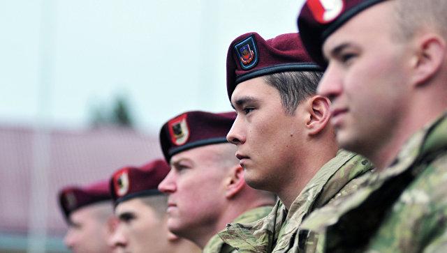 Военнослужащие 173-й бригады армии США, архивное фото