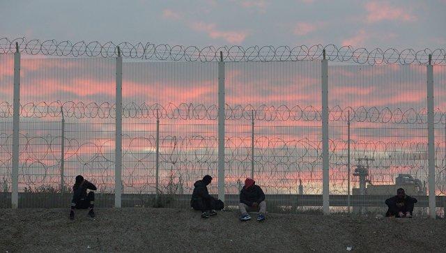 Врасселенном убежище мигрантов вКале остаются около сотни беспризорных детей