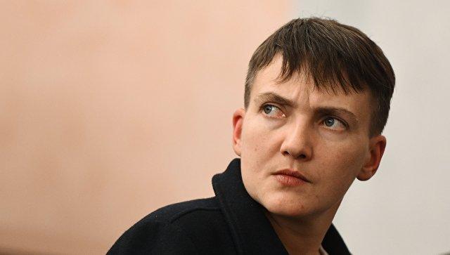 """Савченко предрекла """"большую войну"""""""