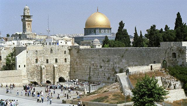 Вид на площадь Харам аш-Шариф. Иерусалим. Архивное фото