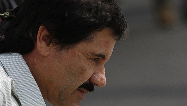 Мексиканский наркобарон Хоакин Гусман Лоэра,Эль Чапо. Архивное фото.