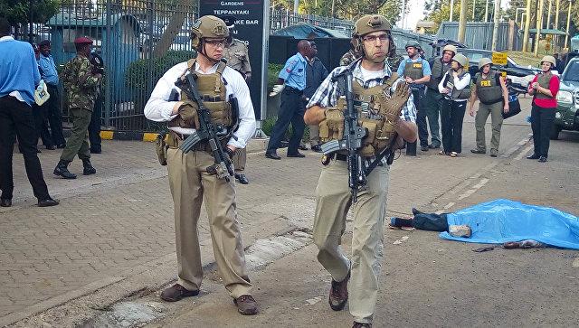 ИГвзяло ответственность занападение упосольства США вКении