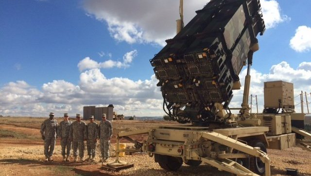 Американские ракеты Patriot в Турции