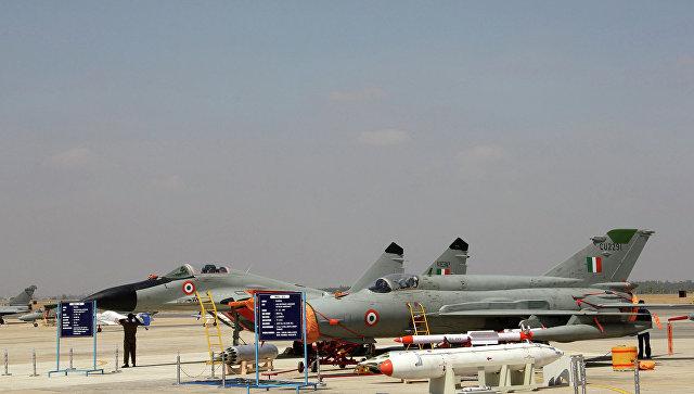 Самолеты ВВС Индии на базе. Архивное фото