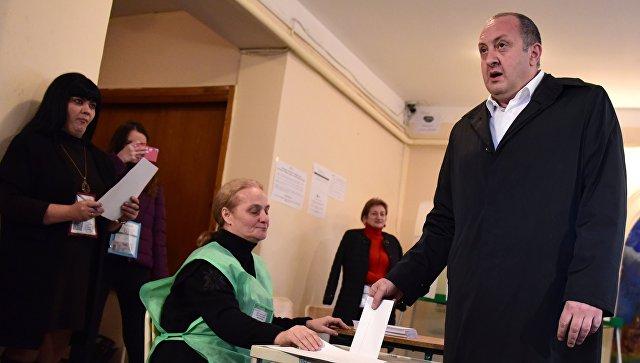 2-ой тур парламентских выборов начался вГрузии