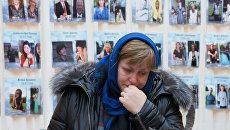Акция памяти жертв авиакатастрофы над Синаем в Петропавловской крепости. Архивное фото