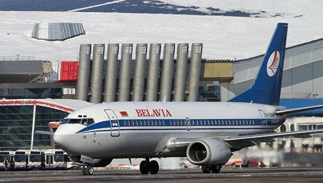 Boeing 737 авиакомпании Белавиа