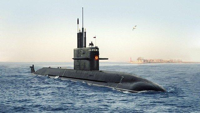 Подводная лодка Амур-1650. Архивное фото