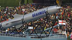 Крылатая ракета Брамос. Архивное фото