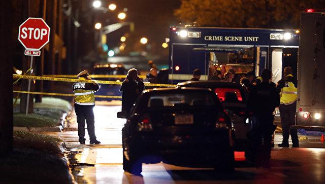 Здешние граждане встрахе: вСША неизвестный подстрелил 2-х полицейских