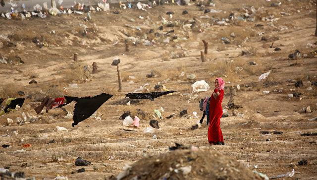 Женщина в Ираке. Архивное фото