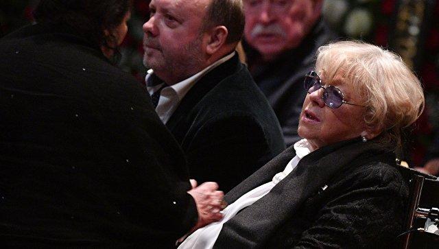 Скончалась вдова Владимира Зельдина Иветта Капралова