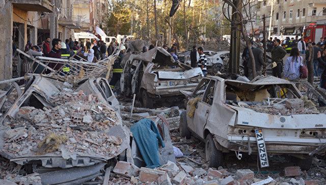 Втурецком городе Ширнак произошёл взрыв, двое детей погибли