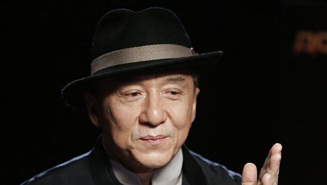 Актер Джеки Чан. Архивное фото