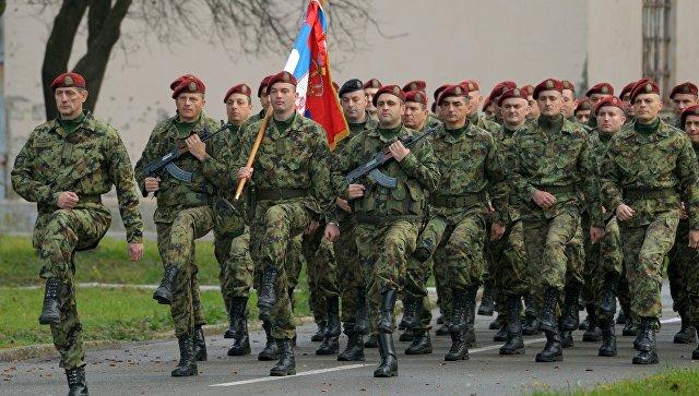 Сербские военнослужащие. Архивное фото