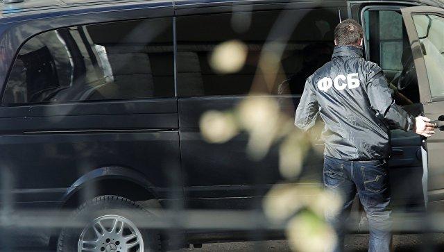 Сотрудник Федеральной Службы Безопасности России, архивное фото